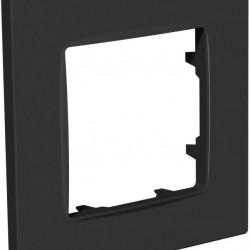 Рамка 1-я Plank Nordic антрацит (PLK1010242)