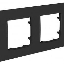 Рамка 2-я Plank Nordic антрацит (PLK1020242)