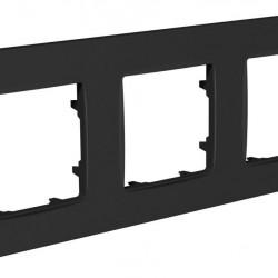 Рамка 3-я Plank Nordic антрацит (PLK1030242)