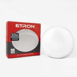 Светильник светодиодный ETRON Communal 1-EСP-502-C 10W 5000К (круг)