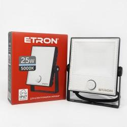 Прожектор LED ETRON Spotlight Power 1-ESP-224 25W 5000K с датчиком движения