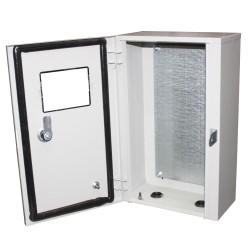 Бокс монтажный навесной БМ-50 (стекло)+П герметичный IP54 (350х500х220)