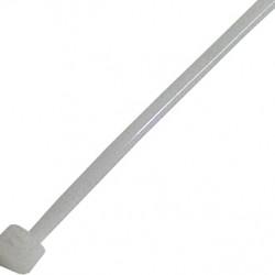 Кабельная стяжка (хомут) e.ct.stand.100.3 (100шт) белая длина 10см.