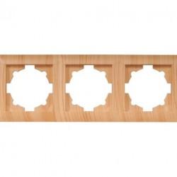 Рамка 3-я горизонтальная Luxel PRIMERA сосна (3823)