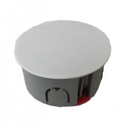 Коробка распределительная КОНТАКТ d80 мм с пластиковыми ушами