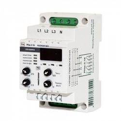 Реле напряжения с регистратором РНм 316Х 16A, DIN