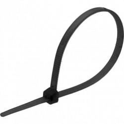 Кабельная стяжка (хомут) e.ct.stand.100.3.black (100шт) черная длина 10см.